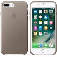 Чехол Apple iPhone 7 Plus Leather Case Taupe (MPTC2ZM/A)