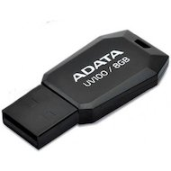 Флеш-диск USB 2.0 ADATA 8GB UV100 black (AUV100-8G-RBK) в Уфе
