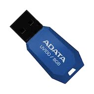 Флеш-диск USB 2.0 ADATA 8GB UV100 blue (AUV100-8G-RBL) в Уфе