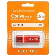 Флеш-диск USB 2.0 QUMO 16GB Optiva 01 Red в Уфе