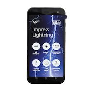 Смартфон Vertex Impress Lightning 4G Black