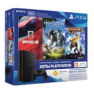 SONY PlayStation 4 500 GBE + HZD/DC/RC+3MHC (CUH-2108A) в Салавате