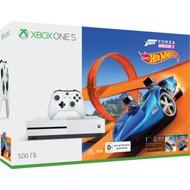 Xbox One S 500Гб + Forza Horizon 3 + Hot Wheels (ZQ9-00212) в Салавате