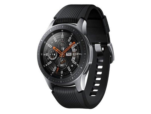 b1a19659 Смарт часы Samsung Galaxy Watch 46mm (SM-R800NZSASER) серебристая сталь