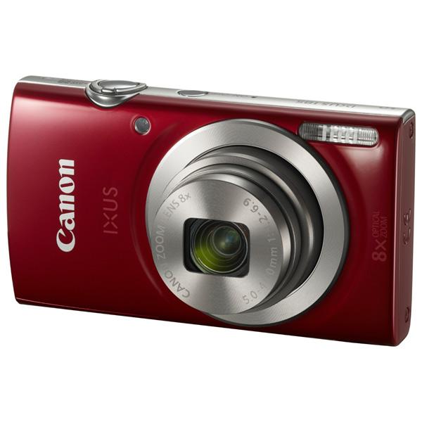 Фотоаппарат компактный Canon ixus 185 красный