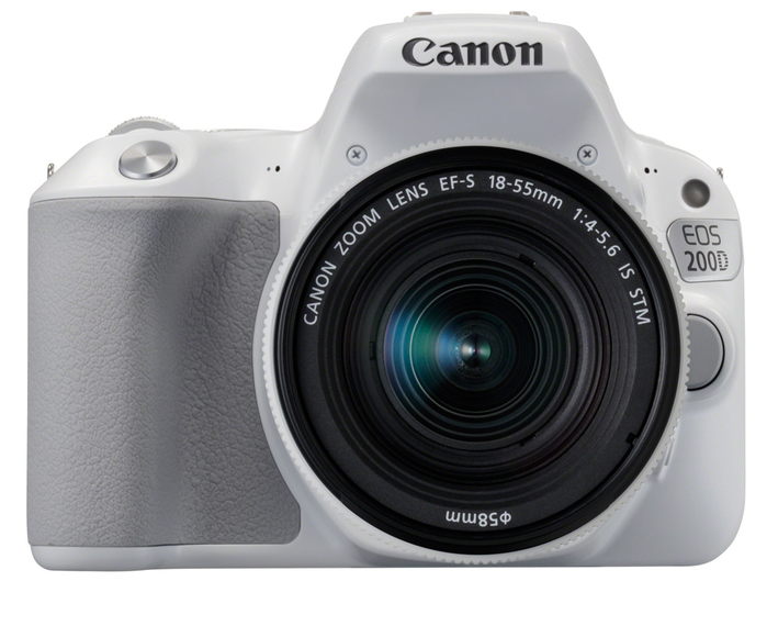 Фотоаппарат зеркальный Canon eos 200d kit 18-55 is stm white
