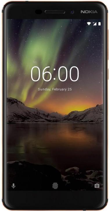 Смартфон Nokia 6.1 (2018) black