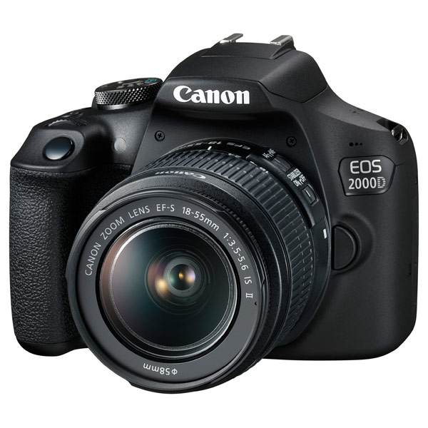 Фотоаппарат зеркальный Canon eos 2000d kit 18-55 is ii