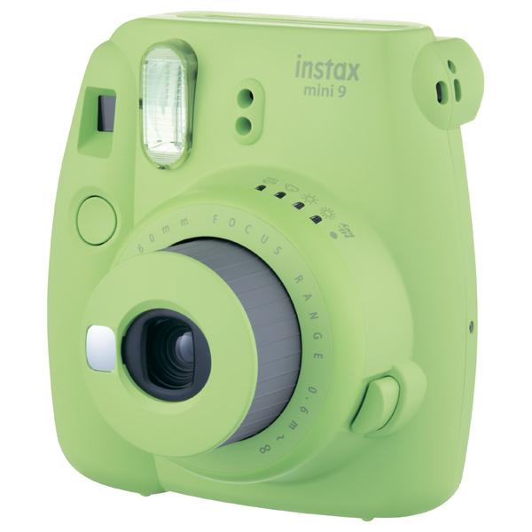 Фотоаппараты мгновенной печати Fujifilm Instax mini 9 green + картридж комплект