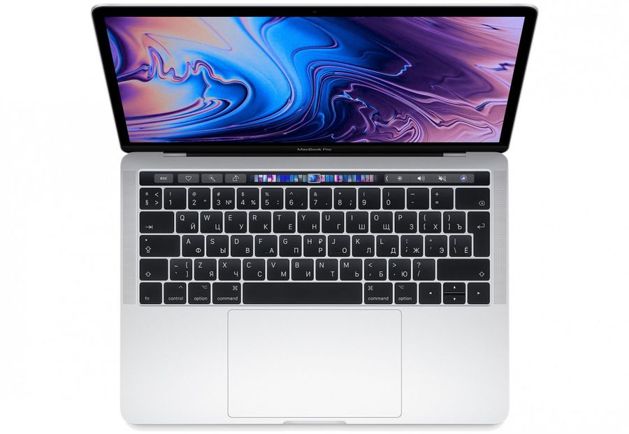 Ноутбук Apple macbook pro /mr9u2ru/a/ intel i5/8gb/256gb/touch bar/13/int iris plus graphics 655/silver